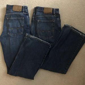 AE men's jeans bundle